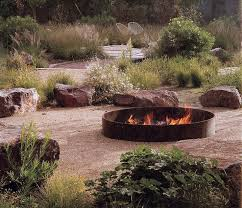 Ideas For Fire Pits In Backyard by Top 25 Best Large Fire Pit Ideas On Pinterest Round Fire Pit