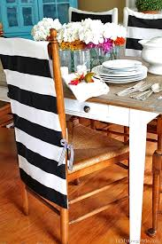 Pattern For Dining Room Chair Covers by No Sew Chair Back Covers In My Own Style