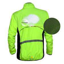 reflective bike jacket windproof waterproof reflective long sleeve cycling jacket