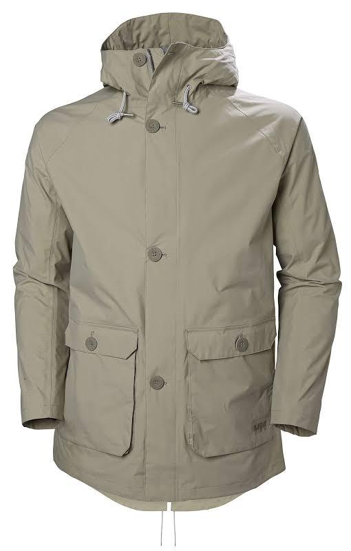 Helly Hansen Tsuyu Rain Coat Aluminum Small 53283-706-S