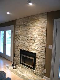 Propane Fireplaces North Bay Ontario by Grey Stone Fireplace With Floating Mantle Electric Fireplace
