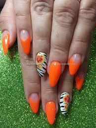 nail art designs orange choice image nail art designs