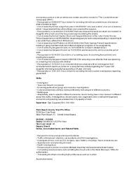 Deputy Sheriff Job Description Resume by Resume For Canada 2