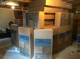 Insulating Basement Concrete Walls by Floor To Ceiling Insulation In A Brick Wall Basement Insofast