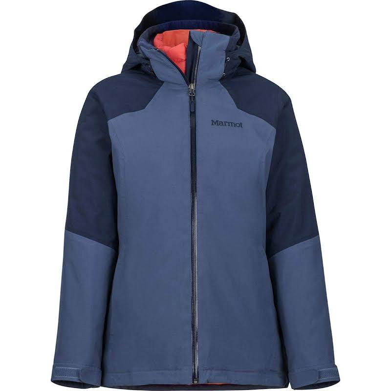 Marmot Featherless Comp Jacket Storm/Arctic Navy Large 79190-3632-L