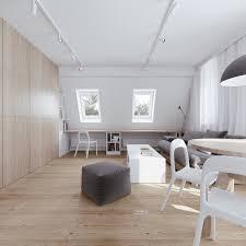minimalist apartment design with soft color scheme roohome