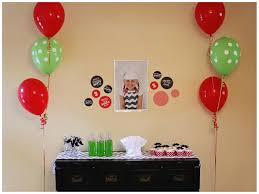 1st Birthday Decoration Ideas At Home Home Decor First Birthday Party Ideas New Party Decorations