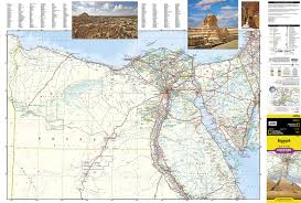 Map Egypt Egypt National Geographic Adventure Map National Geographic