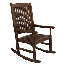 Rocking Chairs At Walmart International Caravan Highland Acacia Traditional Oak Stain Porch