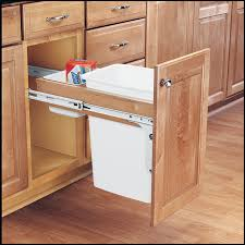 Kitchen Cabinets With Pull Out Shelves by Amazon Com Rev A Shelf 4wctm 12dm1 Single 35 Qt Pull Out Top