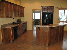 reclaimed wood cabinets for the kitchen interior decorations