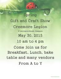 mark may 30th on your calendar come on out to creemore ontario