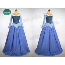 Aurora Halloween Costume Pix U003e Sleeping Beauty Blue Dress Costume Polyvore
