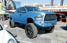 nissan frontier jacked up the lifted trucks of sema 2014