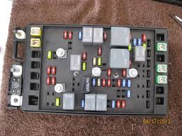 2004 chevy fuse box fuses chevrolet trailblazer gmc envoy solved