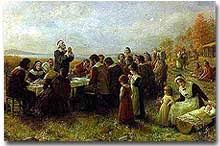 The History Of Thanksgiving Video William Bradford And The First Thanksgiving Ushistory Org
