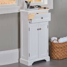weatherby white bathroom cabinet u2013 its slim design and small