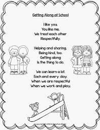 thanksgiving kid poems getting along at poem poems classroom freebies