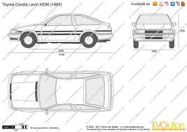 toyota corolla ae86 gt group a 1984 racing cars