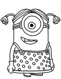minion despicable me coloring pages photos cartoon at