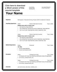 Best Resume Template Download by Resume Examples Sample Write Good Resume Templates Best Resume