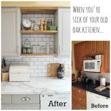 Update Kitchen Cabinets Updating Oak Kitchen Cabinets Without Painting 1809