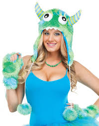 Halloween Costume Monsters Inc Female Sully Costume