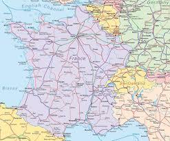 Luxembourg Map France Trains Rails Voies Ferrées Sncf France Angleterre Allemagne
