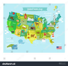 Map Of America With States by America Vector Map States Us Pets Stock Vector 563296837