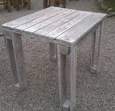 Patio Furniture Wood Pallets - diy pallet reclaimed white washed tables 99 pallets