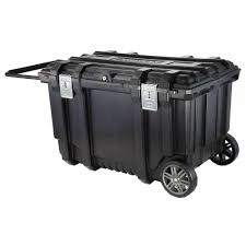 black friday home depot tool box husky 37 in mobile job box utility cart black 209261 the home depot