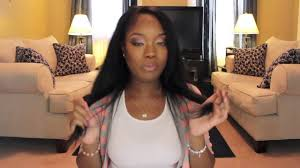 Indian Remy Human Hair Clip In Extensions by Natural Black Clip In Hair Extensions For Black Women Youtube