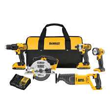 slickdeals home depot black friday 5 tool kit dewalt 20 volt max lithium ion cordless combo kit