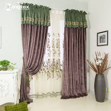 china purple embroidered curtains china purple embroidered