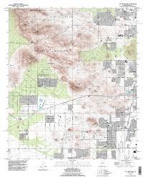 Map Az Cat Mountain Topographic Map Az Usgs Topo Quad 32111b1