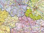 mapa europy samochodowa