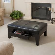 modern ottoman table coffee table best black leather ottoman coffee table ideas black
