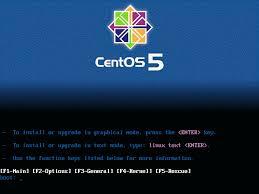 اليكم اخواني نسخة CENTOS5 الخاصة بمحترفي سرفرات لينوكس