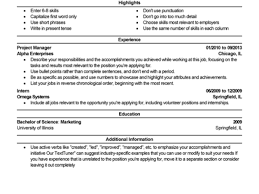A Few Resume Tips for Job Seekers   Librarian Enumerations Here is an example