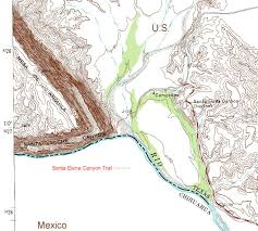Where Is Terlingua Texas On A Map Santa Elena Canyon Trail Climbing Hiking U0026 Mountaineering