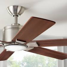 Free Shipping Home Decorators Code Home Decorators Collection Renwick 54 U0026 034 Brushed Nickel Ceiling Fan