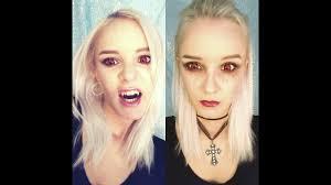 Halloween Vampire Look Vampire Makeup Looks For Halloween Youtube