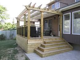 Deck Pergola Ideas by Pergola Designs For Decks Deck Craftsman With Deck Pergola Radius