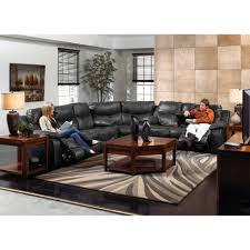 leather sectional sofa recliner living room amazing leather sectional sofa with recliner images