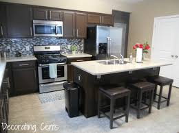chocolate brown kitchen cabinets home decoration ideas