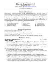 project management resume example highly qualified senior program manager resume sample with summary fullsize by gritte highly qualified senior program manager resume sample