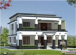 kerala style flat roof house plans house design plans