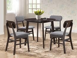Amazoncom Baxton Studio Debbie MidCentury Round Dining Table - Century dining room tables