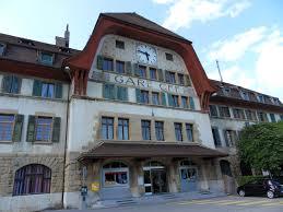 Vallorbe railway station