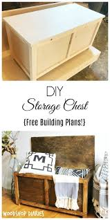100 free plans to build a toy chest the 25 best toy box